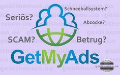 GetMyAds – Betrug oder seriös? Eine objektive Betrachtung