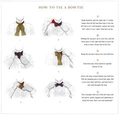 An easy how-to: tying a bow tie