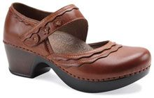 The Dansko Harlow in Whiskey from the Geneva collection. $140