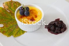 #Creme #Brulee With #Caramelized #Blue #Grapes @iStock #iStock #food #homemade #selfmade #delicious #autumn #fall #white #stock #photo #new #download #portfolio #hires