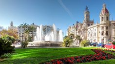 "Valencia Plaza del Ayuntamiento Go to http://iBoatCity.com and use code PINTEREST for free shipping on your first order! (Lower 48 USA Only). Sign up for our email newsletter to get your free guide: ""Boat Buyer's Guide for Beginners."""