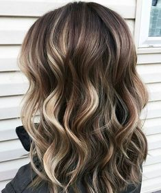 48 Balayage Ombre Hair Colors For 2019 Hair Color And Cut, Ombre Hair Color, Hair Color Balayage, Brunette Color, Hair Colors For Fall, Summer Hair Color For Brunettes, How To Bayalage Hair, Hair Color For Brown Eyes, Hair Colours