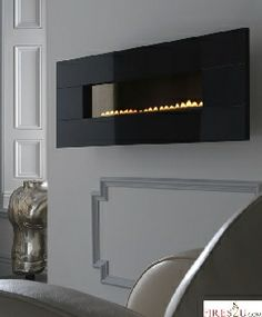 The Ekofire 5090 Flueless gas fire produces to 2.6kW heat output and is suitable for Natural Gas.