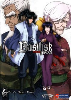Basilisk---first anime that I was able to get my husband to sit down and watch because it was gory enough. Very good story, but a lot of graphic death.