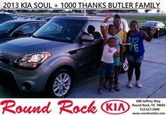 #HappyAnniversary to Samantha Butler on your 2013 #Kia #Soul from Fidel Martinez at Round Rock Kia!