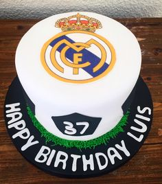 Real Madrid Cake  By Cakesbyme