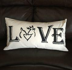 Anniversary Gift, Gift for Boyfriend, Husband Gift, Deer Decor, Deer Antler, Decorative Pillow, Deer hunters, Wedding Gift, Anniversary Gift by ReddoorDesignn on Etsy