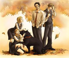 Sirius lapping up attention by ~Harry-Potter-FanClub on deviantART