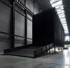Miroslaw Balka, How It Is, 2009. Turbine Hall at the Tate Modern