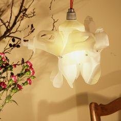 'Dog' made by Heleen van Zantvoort Reuse, Lamps, Table Lamp, Ceiling Lights, Lighting, Paper, Home Decor, Lightbulbs, Table Lamps