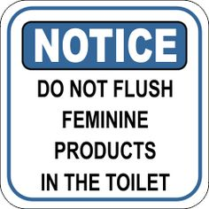 Bathroom Notice Signs looking for a high-quality custom sign? order this notice use