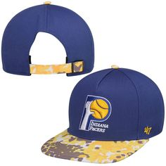 lowest price 213df 2c817 Indiana Pacers  47 Brand Drytop Adjustable Snapback Hat - Navy Blue