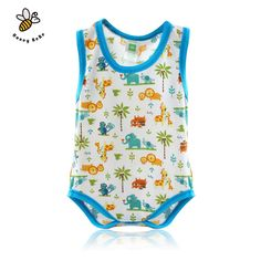 Summer Sleeveless Baby Girl Romper Cute Animals Newborn Clothes Infant Newborn Baby Boys Girls Clothes Jumpsuits Baby Costumes