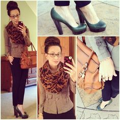 Leopard and Green: #leopard and #olivedrab #green for #coasttocoastchallenge #rachelzoe #pumps #shop6pm #targetstyle #concealedcarrie #katespade #glasses #ootd #fallstyle #wiwt #fashion #fashionista #whatiwore #lookoftheday #instafashion #instastyle #igfashion #igstyle #mystyle #currentlywearing #casualasusual #instalook #hapa #followme #stylediaries