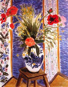 Henri Matisse - Poppies - Fireworks circa 1919