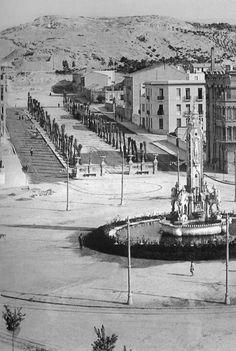 Barcelona, Spain, Plaza, World, Cat, Alicante Spain, Walks, Antique Photos, Cities