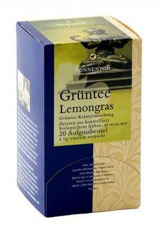 Sonnentor Grüntee-Lemongras bio, Beutel