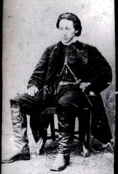 Toshizo Hijikata of the shinsengumi, i didn't know he was a real person