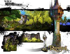 Rapunzels Tower by vonkoz on deviantART