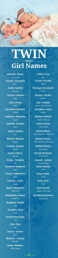 50 Best Twin Baby Girl Names With Meanings: Choosing The Best Twin Baby Girl Names