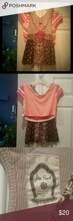 2 FREE PEOPLE Tops pink n Cream on both 2 FREE PEOPLE Tops! 4 the Price of 1  ! !  Both size xs. Perfect Condition! ! ! ! ! ! ! 1 has crochet back, the other has key hole back =)  Both Sooo Very Soft mmmmmmmmmmmmmmmmmmmm And Beautiful! ! #GREATDEAL! ! #HOTLOOK! ! Free People Tops