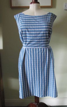 Lovely version of Marilla Walker's Bennett dress.  https://justsewtherapeutic.wordpress.com/2016/07/17/my-marilla-walker-bennett-dress/
