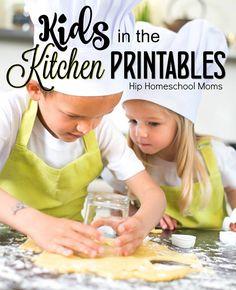 [orginial_title] – Hip Homeschool Moms Kids in the Kitchen Printables Kids in the Kitchen Printables Pinnable Image Kids Cooking Activities, Cooking With Toddlers, Preschool Cooking, Kids Cooking Recipes, Baking With Kids, Kids Meals, Kid Cooking, Cooking School, Baking Recipes