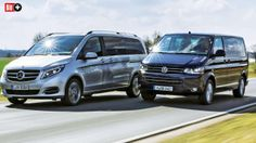 RSTER VERGLEICH: MERCEDES V-KLASSE VS. VW T5 Zittersieg gegen Uralt-Bulli
