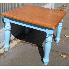 $45.00 Blue Coffee Table by NewLeafWoodwork on Handmade Australia