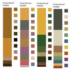 Bronze Autumn/The Divine Diva Colours extracted from paintings by Gustav Klimt
