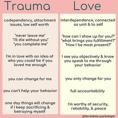 Through generations of inherited trauma, we've lost touch with what authentic love looks and feels like. That's why I'm so grateful for… Mental And Emotional Health, Mental Health Awareness, Emotional Healing, Trauma, Ptsd, Codependency Recovery, Codependency Quotes, Gaslighting, Low Self Worth