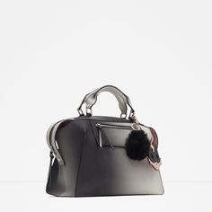 Image 2 of OMBRÉ BOWLING BAG from Zara