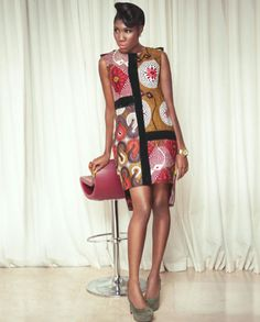 African Prints in Fashion: Christie Brown Ghana: New Collection 'Xutra'