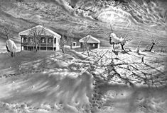 карандашный рисунок Гурам Доленджашвили - 05