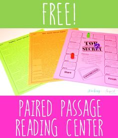 Paired passages don