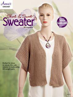 a5b14bc422fe3 Short   Sweet Sweater - Crochet Pattern