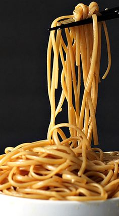 Here's a great way to get Hibachi noodles at home at half the cost. Noodles sauteed in butter, garlic, soy sauce, teriyaki sauce, sugar and sesame oil. Hibachi Recipes, Noodle Recipes, Grilling Recipes, Cooking Recipes, Garlic Noodles, Shrimp Noodles, Peanut Noodles, Asian Noodles, Tagliatelle