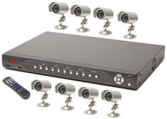 Q-See 8 Channel Non-Real-time H.264 Pentaplex Network DVR with 250GB HDD Pre-Installed and 8 Color CCD Day/Night Camera Kits by Q-See. $1314.50. Protect what is important to you. This is a 8 Channel H.264 Pentaplex Network DVR that will record video input from the Security Camera/CCTV connected to this Unit (up to 8 Cameras). It will provide rock-solid, easy-to-use performance, which makes it ideal for multi-camera law enforcement, industrial, commercial, and individua...