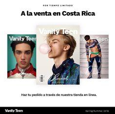 Adquiere tu copia de Vanity Teen en Costa Rica!   Inspírate con nuestros artículos y editoriales de moda masculina junto a los mejores modelos new faces de todo el mundo.  Te interesa? Envíanos un mensaje o haz tu pedido a través de nuestra tienda en http://ift.tt/29iQLHh