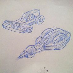 Vroom!  Teaching my son to design vehicles by using simple shapes. by campbellwhyte