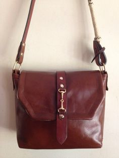 Hey, I found this really awesome Etsy listing at https://www.etsy.com/listing/208262597/the-hunt-cross-body-handbag-in-whiskey