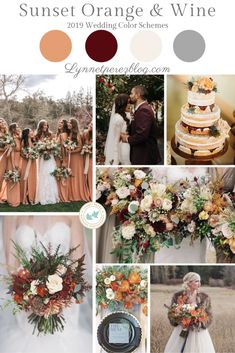 Color wedding colors Possible color scheme October Wedding Colors, Orange Wedding Colors, Fall Wedding Colors, Wedding Flowers, Wedding Color Schemes Fall Rustic, Mustard Yellow Wedding, Burnt Orange Weddings, Autumn Wedding, Wedding Themes