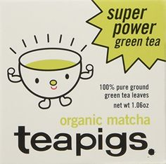teapigs Organic Matcha Tea Tin, 30 Gram by TEAPIGS -- Awesome products selected by Anna Churchill