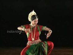 Incredible India-Odissi Classical Dance (HD)-Part 1-Mangalacharan by Suj...