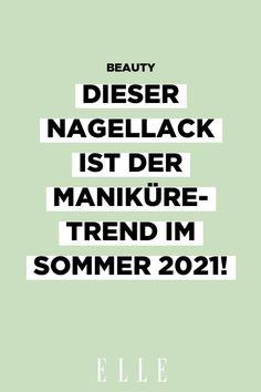 Sorgt für gute Laune und einen optisch gebräunten Teint: Nagellack in Pistazie ist der Maniküre-Trend im Sommer 2021. Mehr auf Elle.de!
