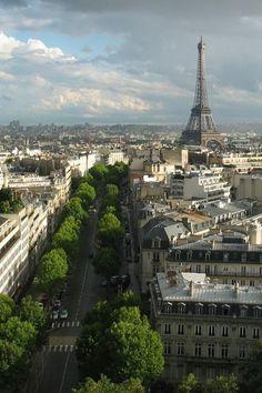 Tour Eiffel in Paris, France Paris 3, Paris City, Montmartre Paris, Paris Night, Paris Summer, Paris Travel, France Travel, Travel City, Food Travel