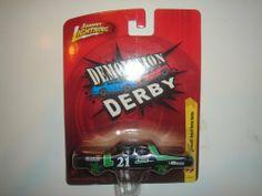 2011 Johnny Lightning R18 Demolition Derby 1967 Plymouth Fury II Demo Derby Black/Green by Learning Curve. $17.88
