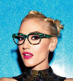 The ever-gorgeous Gwen Stefani in her new GX By Gwen Stefani frames.