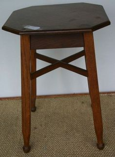 Early 20th Century hexagonal topped drinking table
