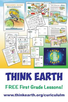 Free first grade environmental education unit from Think Earth. Lessons, videos, stories, activities, & more! Think Earth is a non-profit dedicated to helping communities create and maintain a sustainable environment through education.